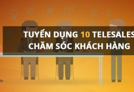 Ecosun Pharma Tuyển dụng 10 nhân viên Telesale và Chăm sóc khách hàng