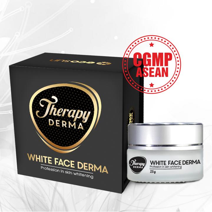 white face derma
