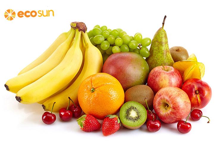 Trị nám tàn nhang từ hoa quả